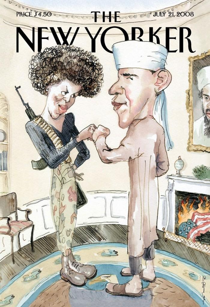 IMAGE 1 - New Yorker Obama Black Panther