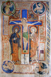 Figure 2 : Folio 4, Crucifixion © Photo Marianne BESSEYRE